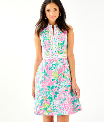 Franci Dress, Multi Hot On The Scene, large