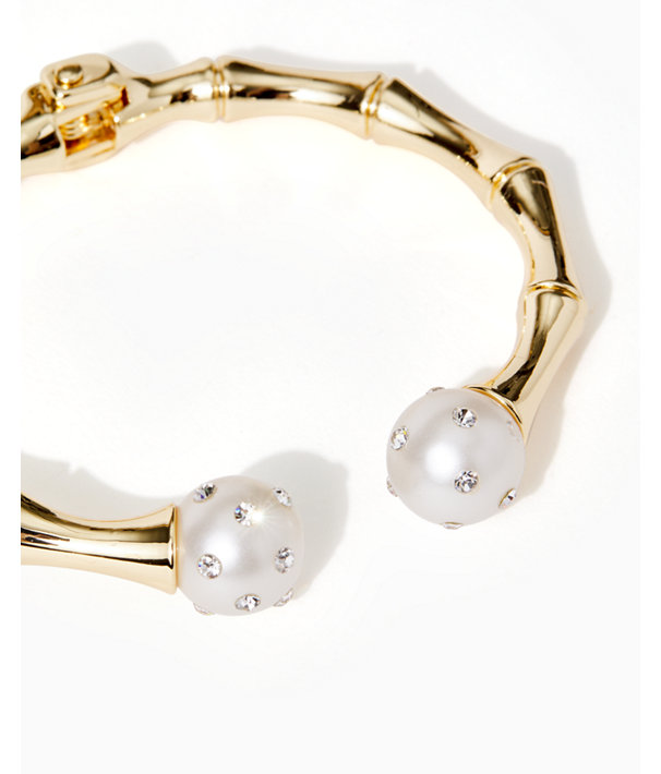 Cosmic Sky Bracelet, Gold Metallic, large