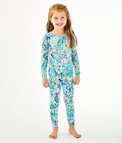 Girls Sammy Pajamas - Snug Fit, Multi Lillys House, large 2