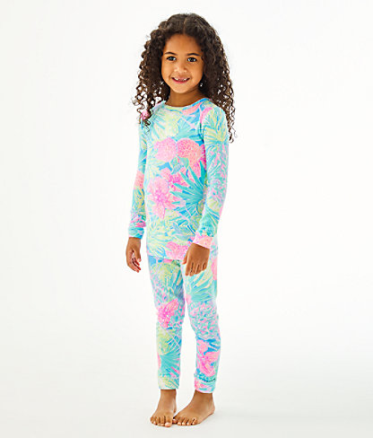 Girls Sammy Pajamas - Snug Fit, Multi Swizzle In Reduced, large 1