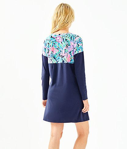 Finn T-Shirt Dress, Multi Bermudaful, large 1