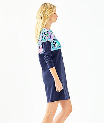Finn T-Shirt Dress, Multi Bermudaful, large 2