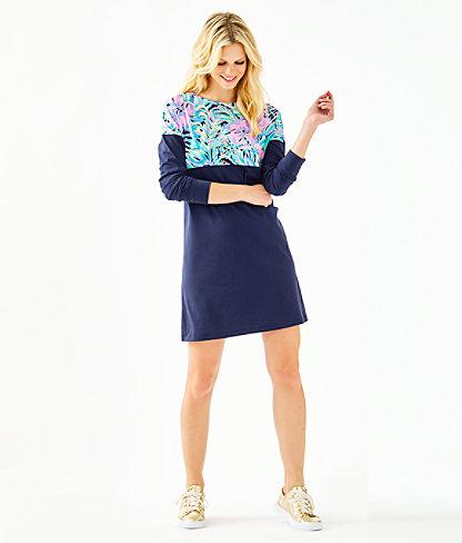 Finn T-Shirt Dress, Multi Bermudaful, large 3