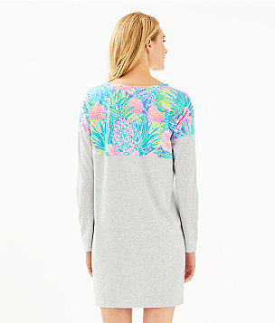 Finn T-Shirt Dress, Multi Swizzle In, large
