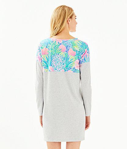 Finn T-Shirt Dress, Multi Swizzle In, large 1