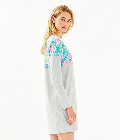 Finn T-Shirt Dress, Multi Swizzle In, large 2
