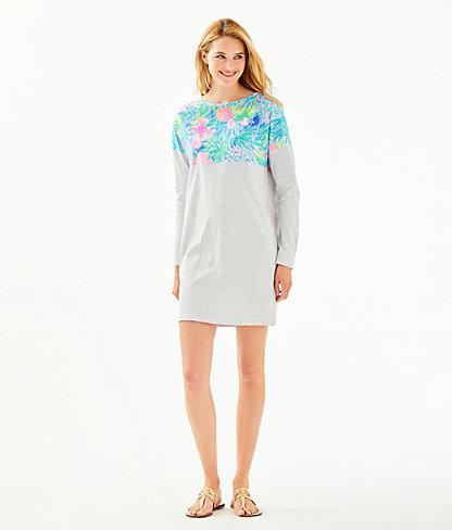 Finn T-Shirt Dress, Multi Swizzle In, large 3