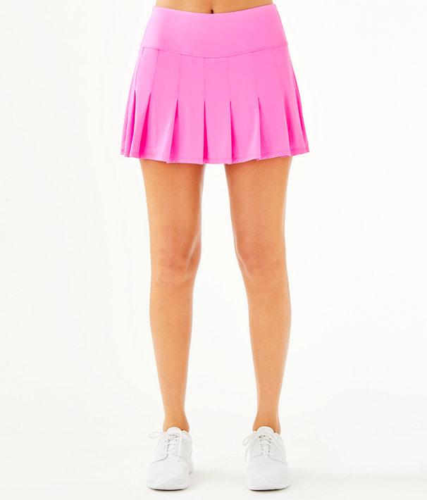 UPF 50+ Luxletic Annora Skort, Prosecco Pink, large