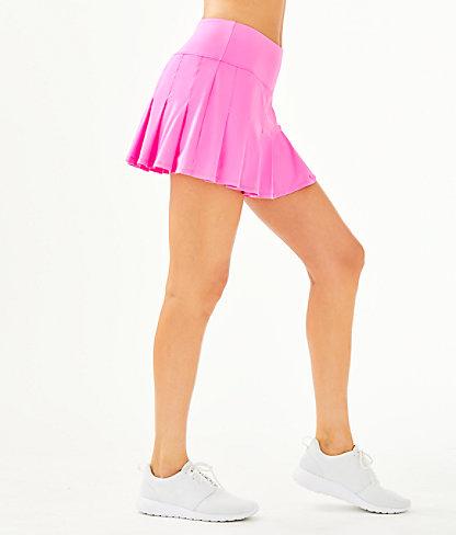 UPF 50+ Luxletic Annora Skort, Prosecco Pink, large 2