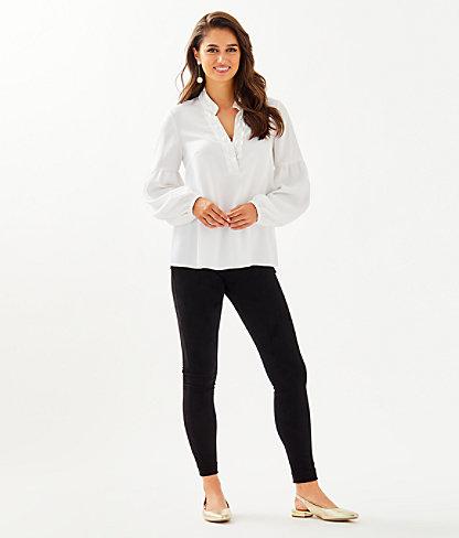 Shea Tunic Top, Resort White, large 2