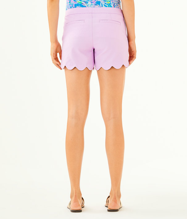 """5"""" Buttercup Stretch Short, Lilac Freesia, large"""