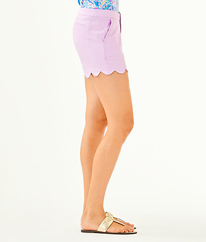 """5"""" Buttercup Stretch Short, Lilac Freesia, large 2"""