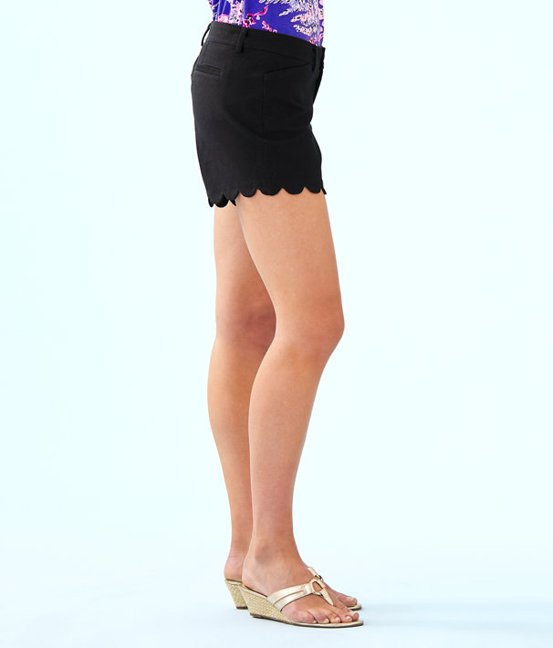 """5"""" Buttercup Stretch Short, Onyx, large"""
