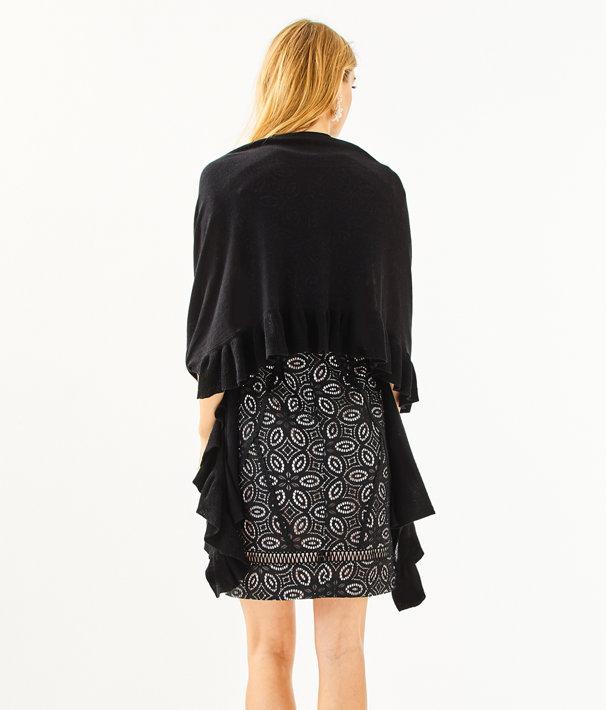 Marcelle Wrap, Black, large