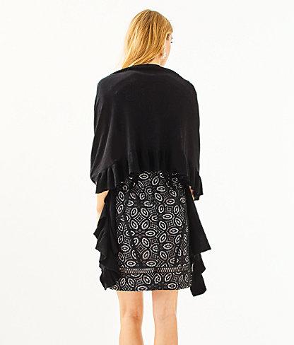 Marcelle Wrap, Black, large 1