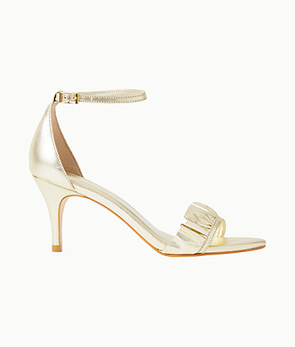 Carly Sandal, Gold Metallic, large 0