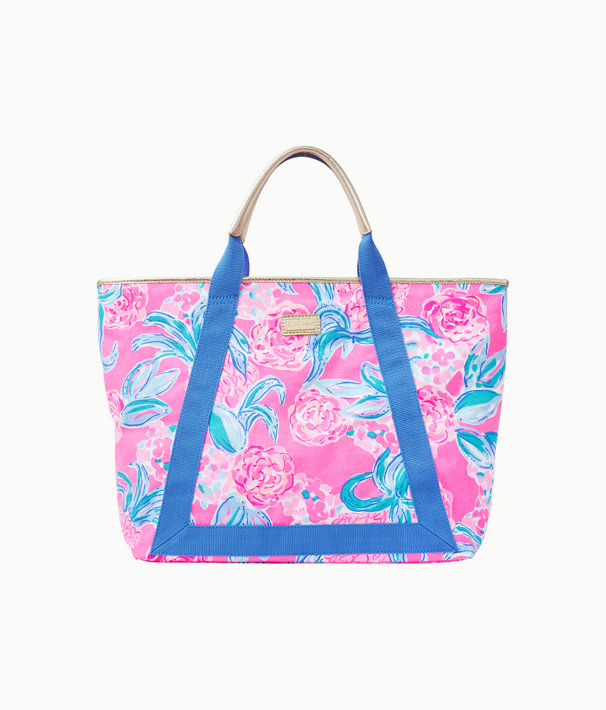 Sofina Tote, Prosecco Pink Pinking Positive Reduced, large