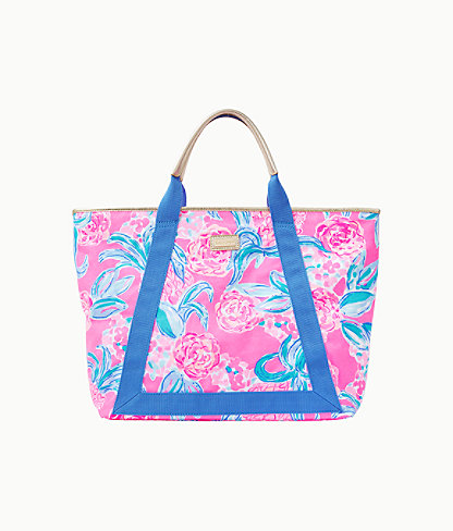 Sofina Tote, Prosecco Pink Pinking Positive Reduced, large 0