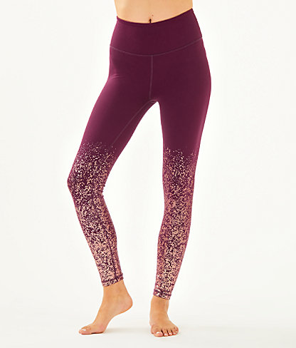 "UPF 50+ Luxletic 26"" Weekender High Rise Legging, Cabernet Berry Anything Is Possible Engineered Luxletic, large 0"