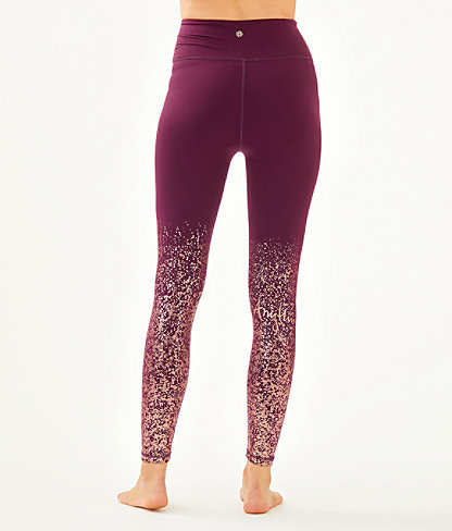 "UPF 50+ Luxletic 26"" Weekender High Rise Legging, Cabernet Berry Anything Is Possible Engineered Luxletic, large 1"
