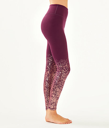 "UPF 50+ Luxletic 26"" Weekender High Rise Legging, Cabernet Berry Anything Is Possible Engineered Luxletic, large 2"