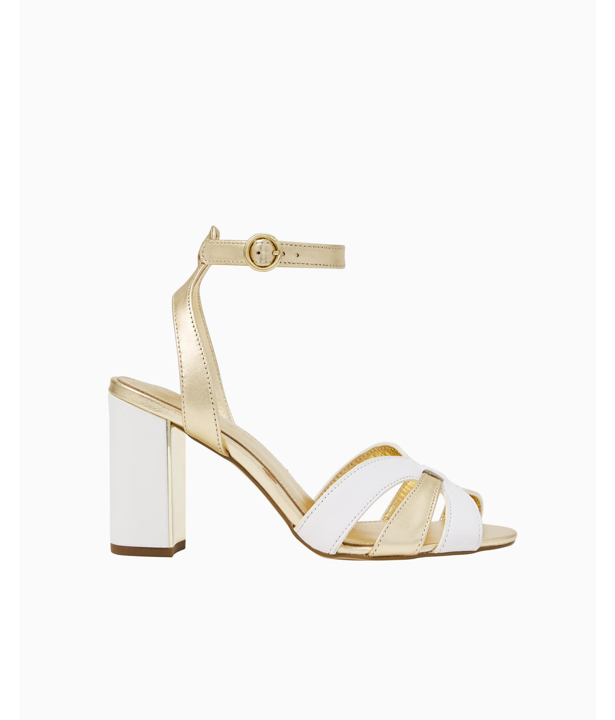 Lilly Pulitzer Alana Sandal In Resort White