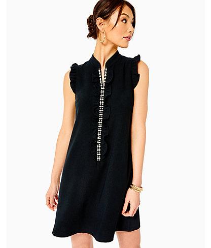 Adalee Shift Dress, Onyx, large 0