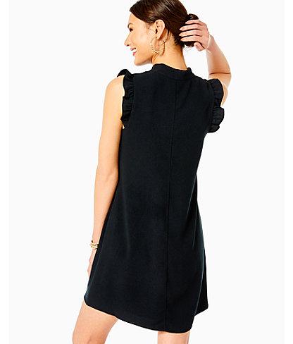 Adalee Shift Dress, Onyx, large 1