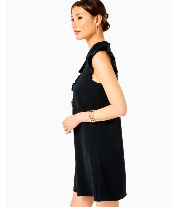 Adalee Shift Dress, Onyx, large