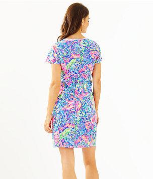 Coralynn Shift Dress, Multi Pop Up 60 Animals, large