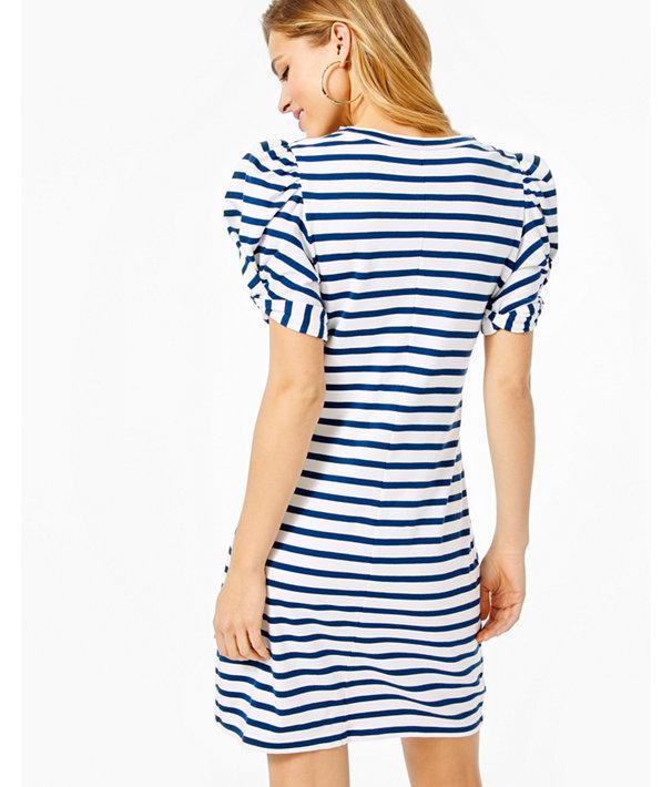 Nautica Womens Vista Stripe Shift Dress