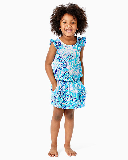 New Lilly Pulitzer GIRLS GIRLS OLIVIA T-SHIRT Cotton DRESS Besame Mucho S M L