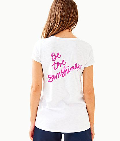 Etta Top, Multi Sunshine Graphic, large 1