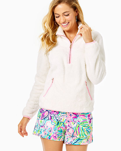 Lilly Pulitzer SKIPPER SHERPA POPOVER