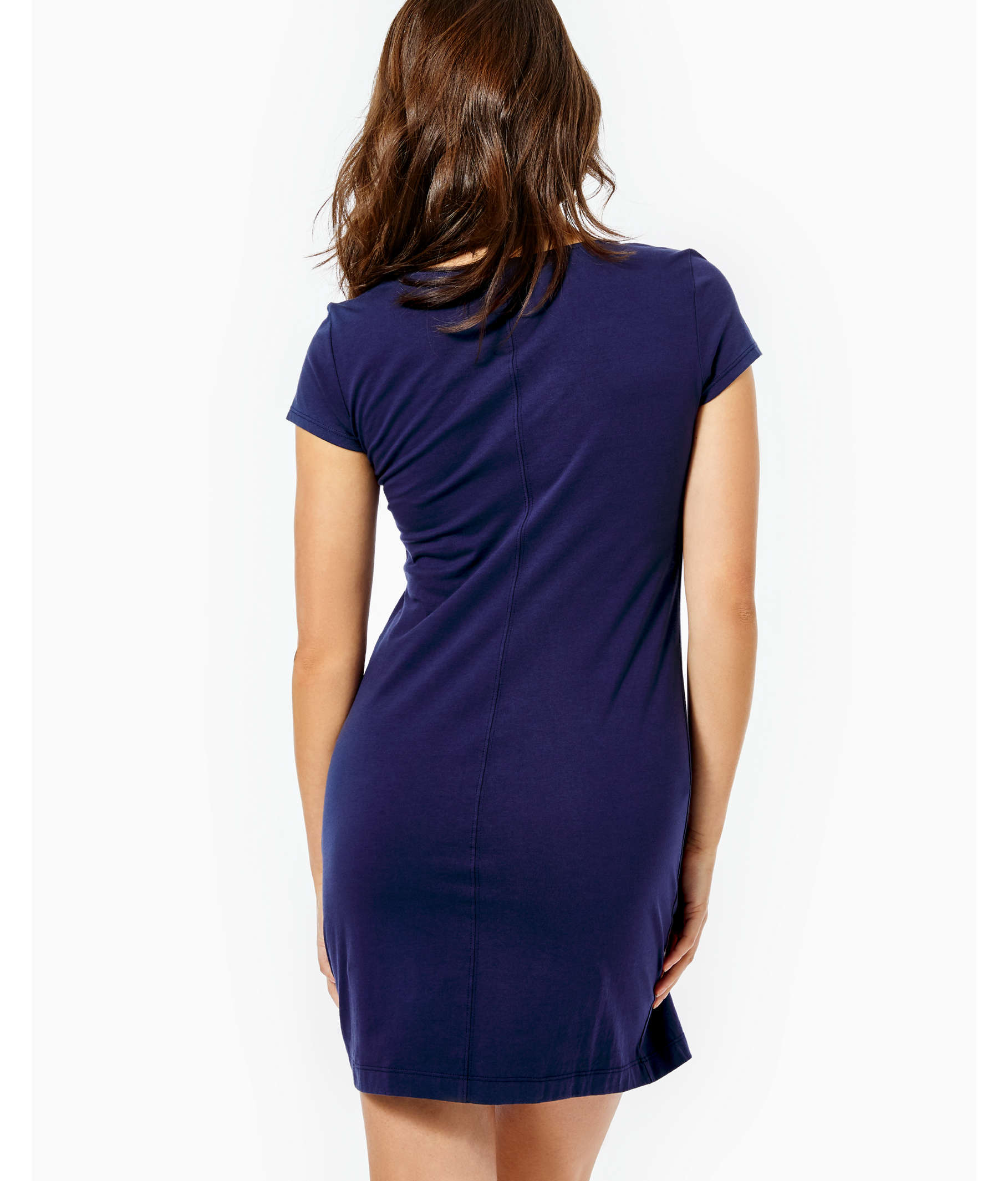 0bf02754ac10 ... Brewster T-Shirt Dress, True Navy, large ...