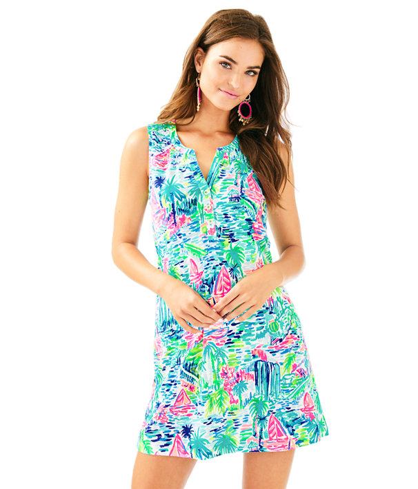 5c7489e6a12edd Sleeveless Essie Dress, Multi Salt In The Air, large