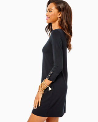 UPF 50+ Sophie Dress, Onyx, large