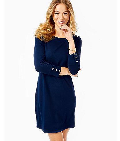 UPF 50+ Sophie Dress, True Navy, large 0