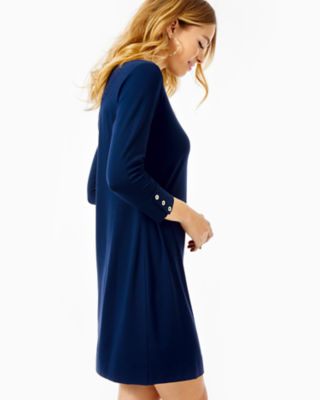 UPF 50+ Sophie Dress, True Navy, large 2