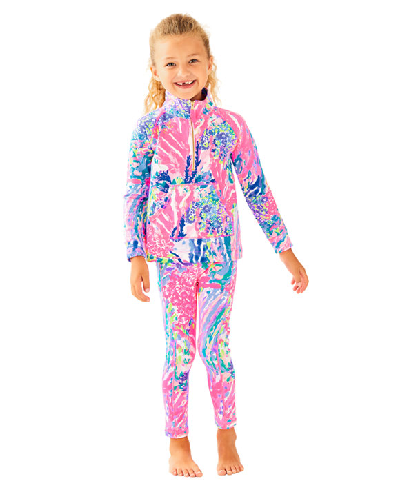 51f53e7302ab1 UPF 50+ Luxletic Girls Mini Weekender Legging | 27451 | Lilly Pulitzer