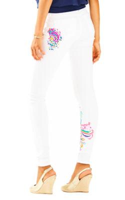 """31"""" South Ocean Skinny Pant, Resort White, large"""