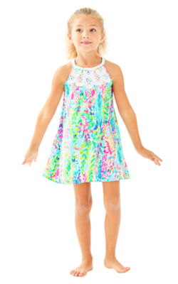 Girls Mini Pearl Shift, , large