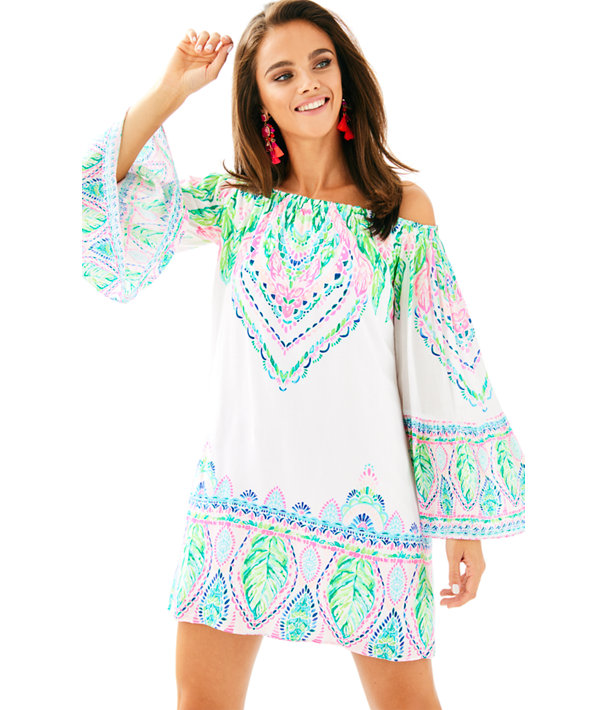 b273c9d6b3 Nevie Off The Shoulder Dress | 28873 | Lilly Pulitzer