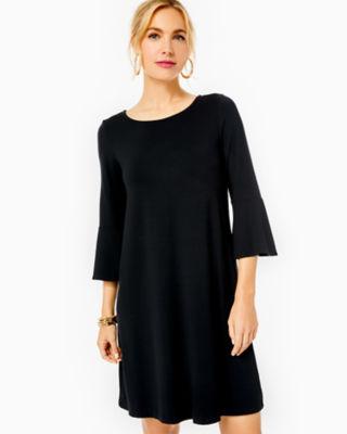 Ophelia Dress, Onyx, large 0