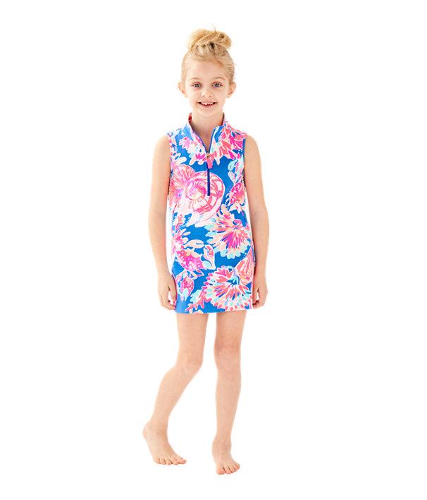 20e2925e72a58e Girls Mini Sleeveless Skipper Shift Dress | 29156 | Lilly Pulitzer