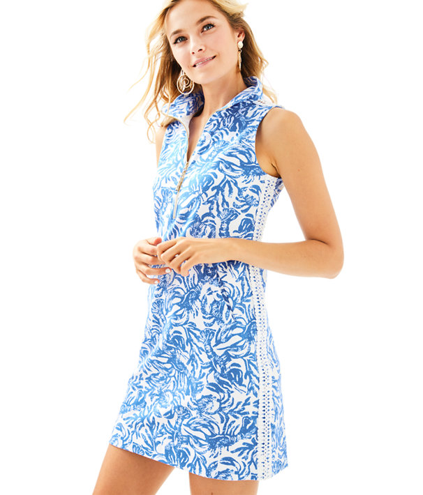 5e7b2ba0a4bee1 Skipper Sleeveless Dress, Resort White On A Roll, large