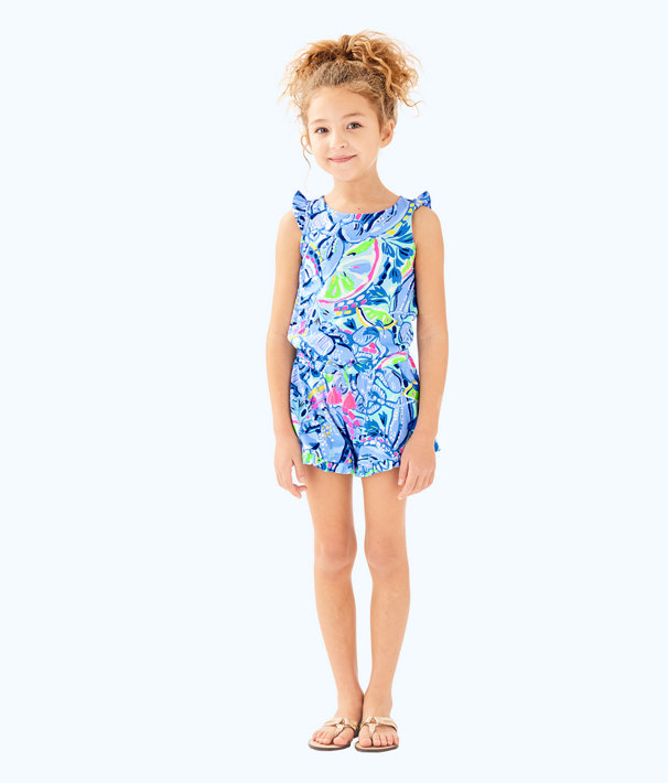 Lilly Pulitzer Little Girls Azel Romper 29361