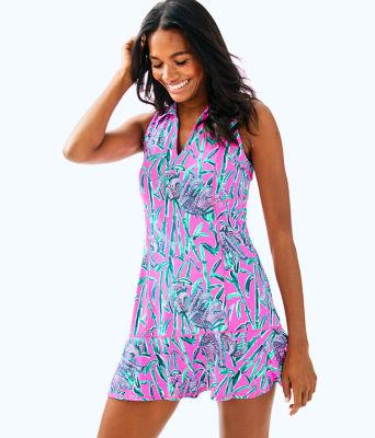 UPF 50+ Luxletic Martina Tennis Dress, , large