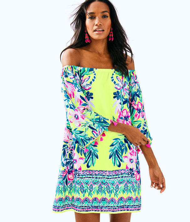 3befd3930473 Payge Off The Shoulder Dress | 30493 | Lilly Pulitzer