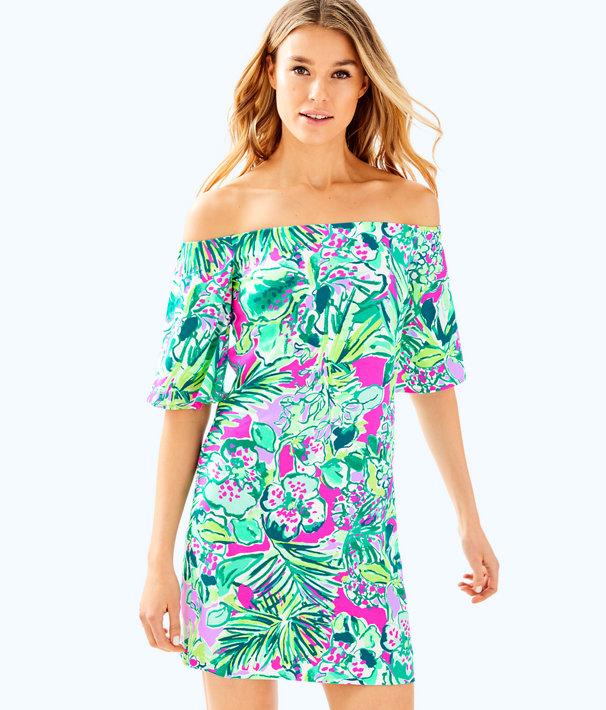 016a9e6741b Fawcett Off the Shoulder Dress | 30514 | Lilly Pulitzer